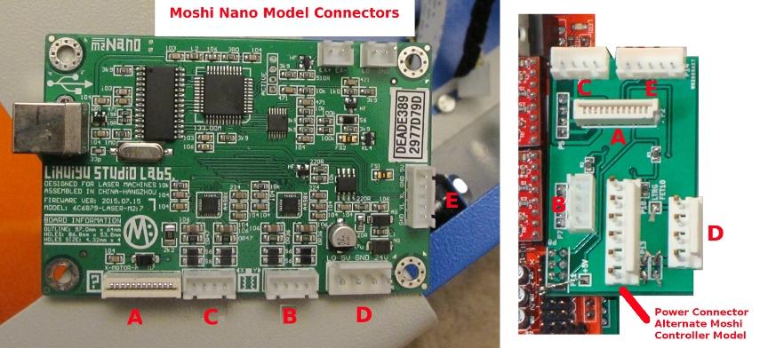 USB Lasersaur Shield Replacement for K40 MoshiDraw Laser